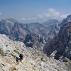 41-Prisojnik - Descent along the southern (Slovenska) path