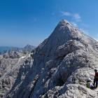 32-Ridge towards Prisojnik summit
