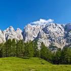 47-View towards majestic Prisojnik from the road to Vršič pass