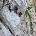 4-Prisojnik - Vstop v plezalni del Kopiščarjeve poti