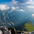 22-Slovenska pot na Mangart - pogled proti dolini Koritnice
