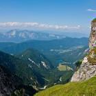 4-View towards Lagi di Fusine in Italy
