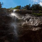 11-Pršenje vode v poletnem času - Predelski slap