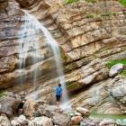 21-Poševni slap - eden najlepših slapov v Posočju