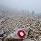 """23-Špik - Foggy descent on the way to """"Kačji graben"""""""