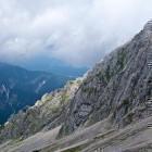 """25-Descent from Špik to """"Kačji graben"""""""