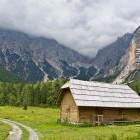 31-Meadow in Velika Pišnica - Krnica valley is in the back