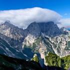 9-Mt. Razor and Mt. Prisojnik from the path to Špik