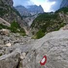 "4-Špik - Ascent across ""Gruntovica"""