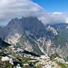 10-Mt. Prisojnik from the path to Špik