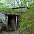 13-Italian caverns on the left bank of Soča river