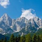 1-Mt. Špik from Gozd Martuljek