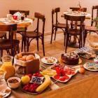 17-Dvor Tacen - zajtrk
