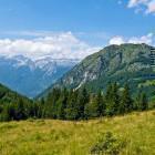 26-View towards Mt. Kanin and Mt. Javoršček