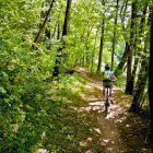 13-12 km long path near Kolpa river bank