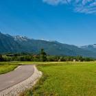 1-Kolesarska pot med Bohinjsko Bistrico in Bohinjskim jezerom