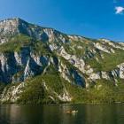 12-Kamp Zlatorog Bohinj - pogled na Pršivec
