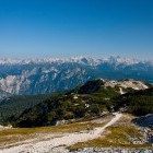 7-Vogel - view towards central Julian Alps