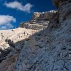 23-Rocky shelves below Križ summit