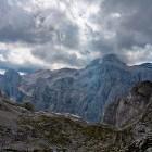 34-Na vrhu Sovatne, pogled na Triglavsko severno steno