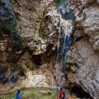 14-Zapotoški slapovi - pod zadnjim slapom