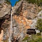 6-Slap Rinka (105 m) na koncu Logarske doline