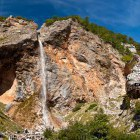 5-Rinka waterfall (105 m) at the end of Logar valley