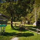 13-Začetek poti po Logarski dolini