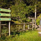 14-Začetek poti po Logarski dolini