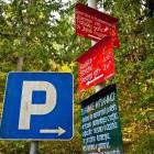 1-Parking in Mače village
