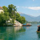 19-Boat ride on Lake Bled