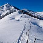 14-Ascent towards Hruški vrh, Karavanke