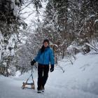 6-Hiking towards Krnica hut, Kranjska Gora