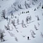 17-Smučarski utrinek pod Debelim vrhom