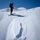 18-Smučarski utrinek pod Debelim vrhom