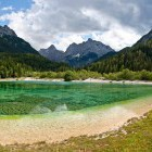11-Jump into the cold alpine lake