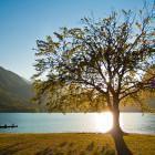 11-Enjoy the sunset in Bohinj