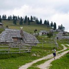 5-Enjoy the lonely trails and admire the wooden cottages