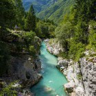 3-Dare to jump into the cold pools of Soča river