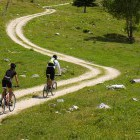 3-And start riding the lonely mountainbiking trails