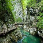 6-Visit the world renowned Vintgar Gorge