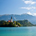 1-We will start the tour from the banks of Lake Bled