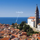 19-Holiday house Piran, It is located just below the church of St. George