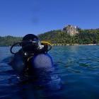 19-Potapljanje v blejskem jezeru (foto: Boštjan Virc)