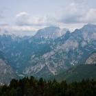 13-Razgled s Čistega vrha proti Vršiču, Prisanku in Razorju
