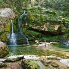 25-Kolesarska tura po bovški kotlini, slap Virje