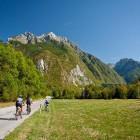 9-Kolesarska tura po bovški kotlini, dolina Soče