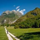 16-Kolesarska tura po bovški kotlini, dolina Soče