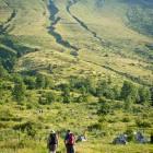 1-Začetek poti na Krn na planini Kuhinja
