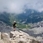 14-Na vrhu Krna: pogled proti Krnskem jezeru